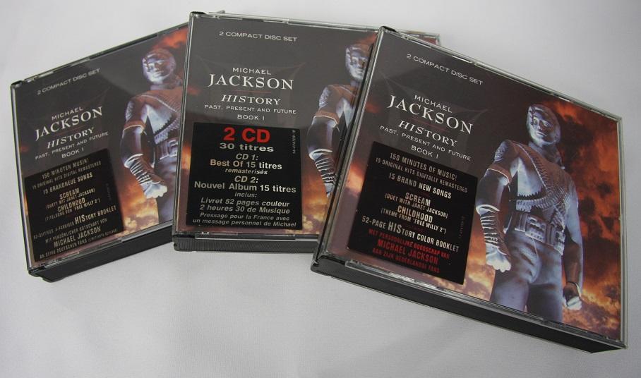 Michael Jackson – HIStory – 2CD – Holland – Message CD