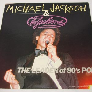 Leader of the '80s - Japan PROMO LP