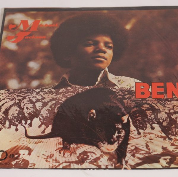 Michael Jackson – Ben – LP – China – Rat Cover
