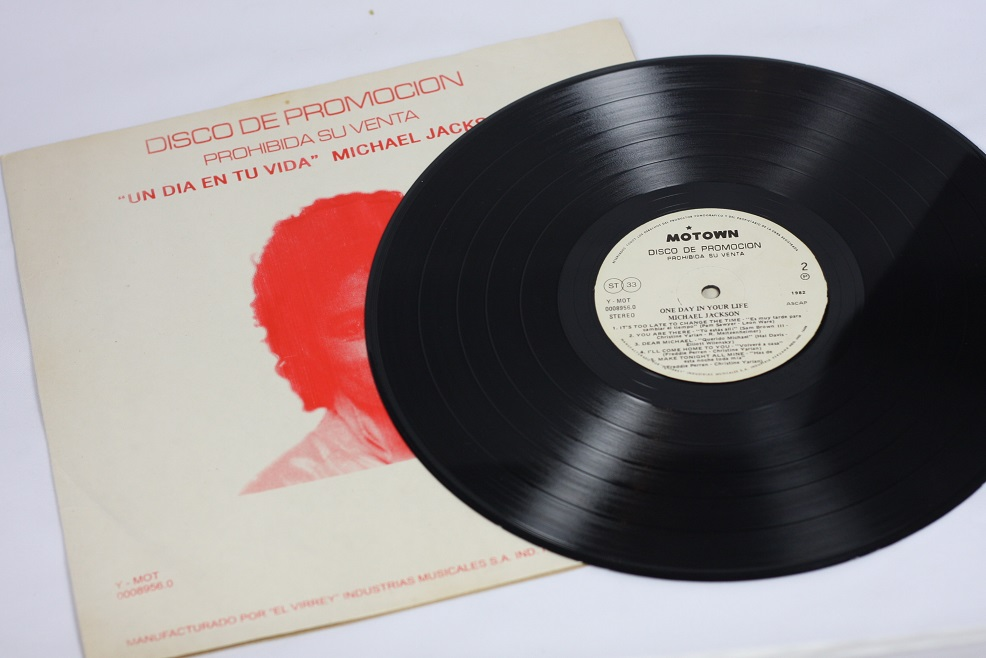 4db18fe41 Michael Jackson - One day in your life - LP - PERU - PROMO ~ AVMJ ...