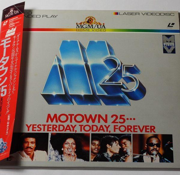 Michael Jackson – Motown 25 – 2Laser disc – Japan – OBI