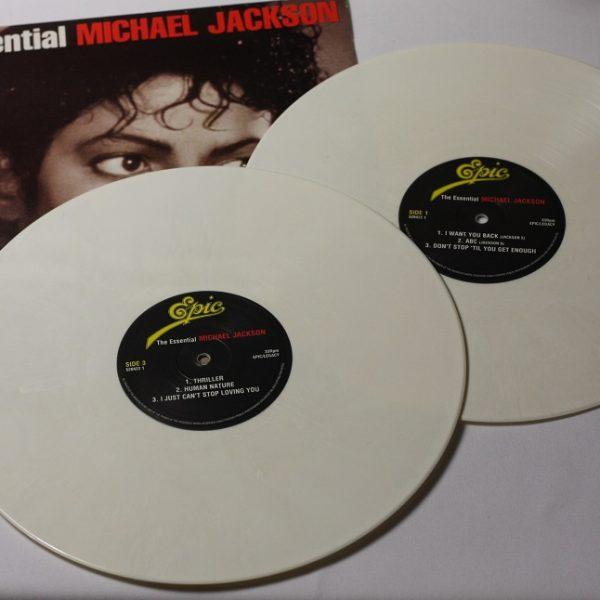 Michael Jackson – The essential – 2LP – Europe – WHITE vinyl