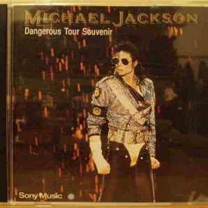 Michael Jackson – Dangerous tour souvenir – CD – MALAYSIA